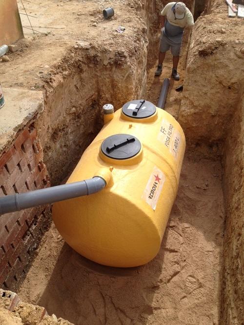 Como construir una fosa septica for Fosa septica sodimac