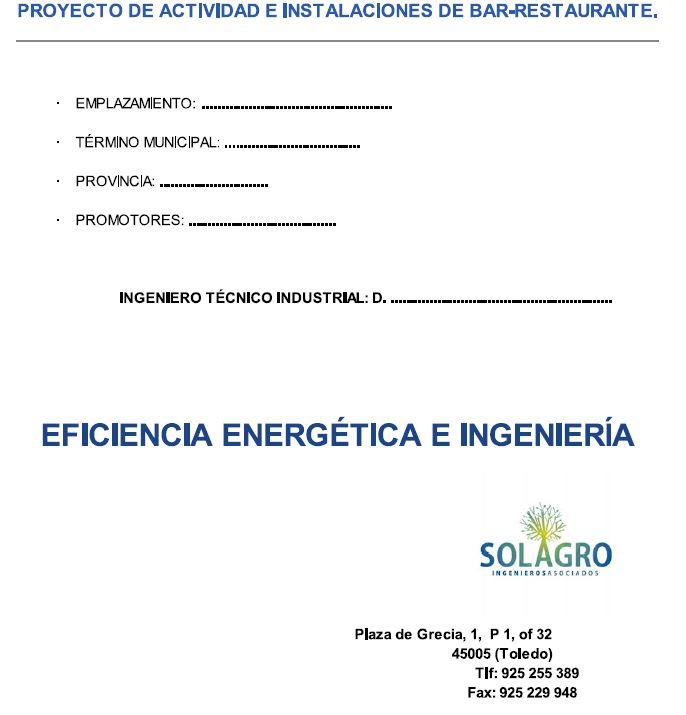 proyecto restaurante pdf