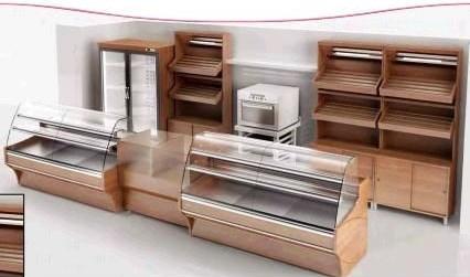 Muebles para panadería.