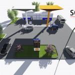 Proyecto para abrir una gasolinera
