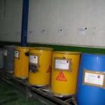 Inscripción como productor de residuos peligrosos